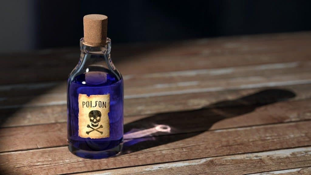 bottle of poison, is dieffenbachia toxic to people and pets?